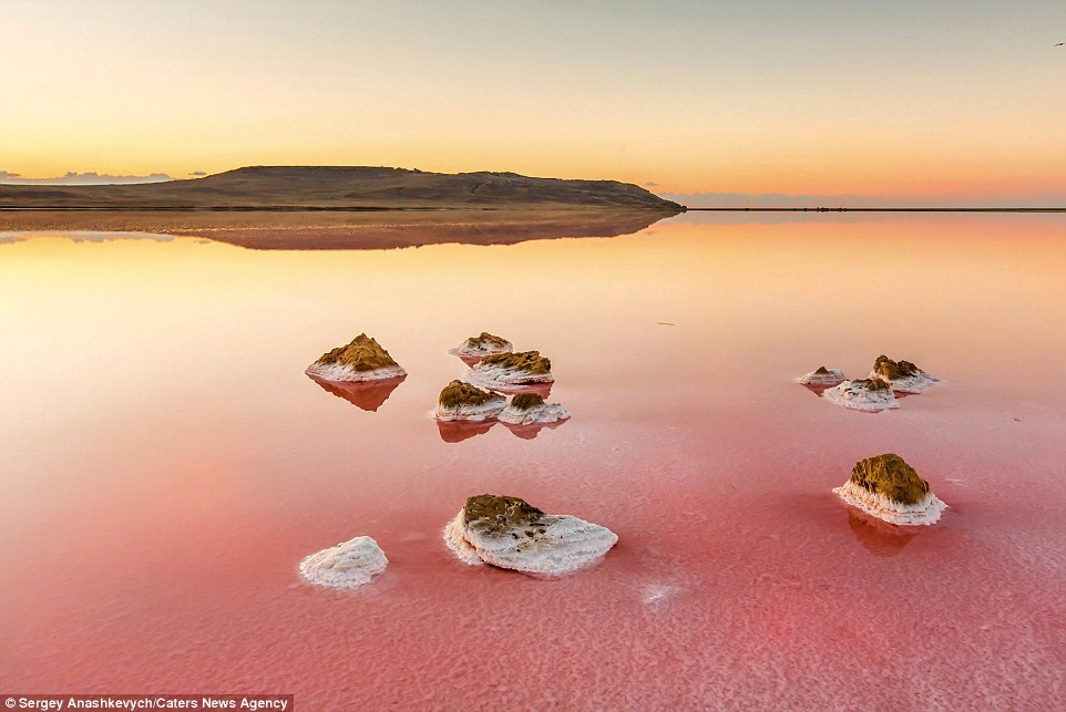 Los espectrales lagos salados de Marte escondidos en su polo sur.