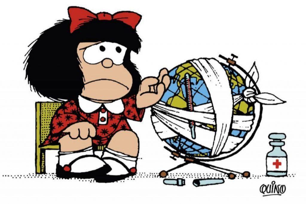 Fallece Quino, el creador de Mafalda.