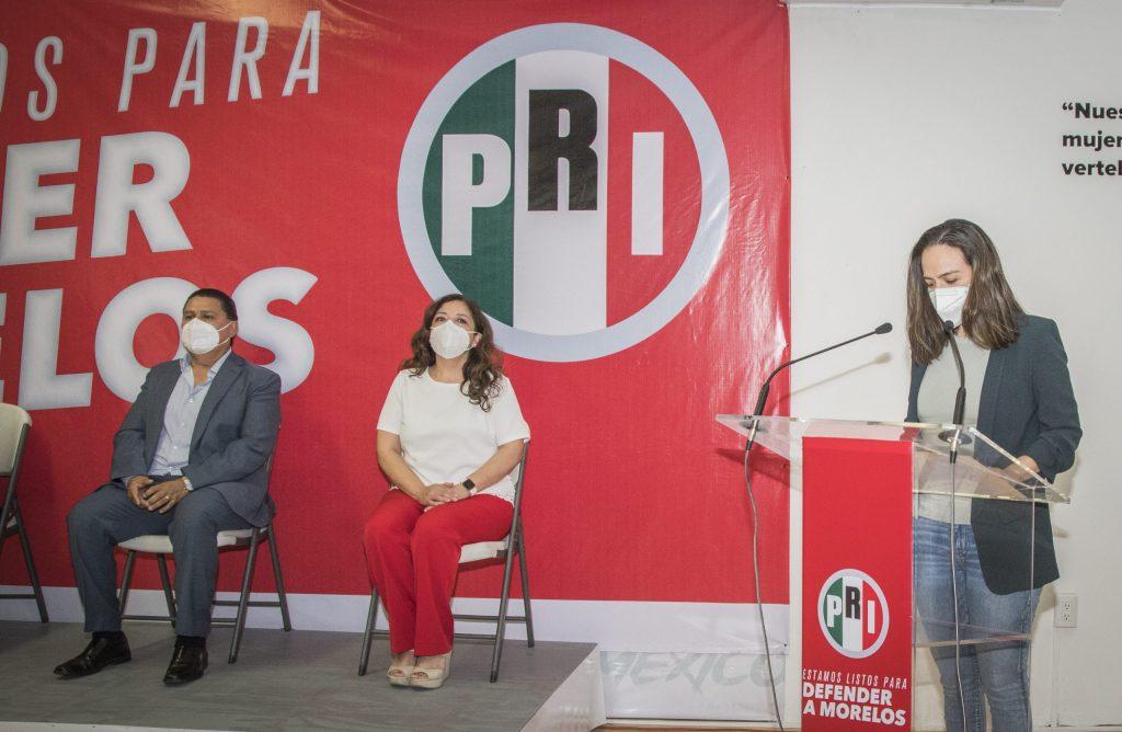 Lourdes Riva Palacio Lavín, va por diputación local del Segundo Distrito de Morelos