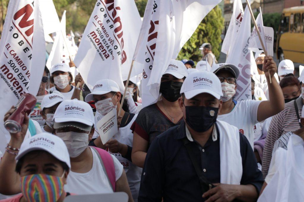 La mafia del poder no puede contra Morena: Mónica Rangel