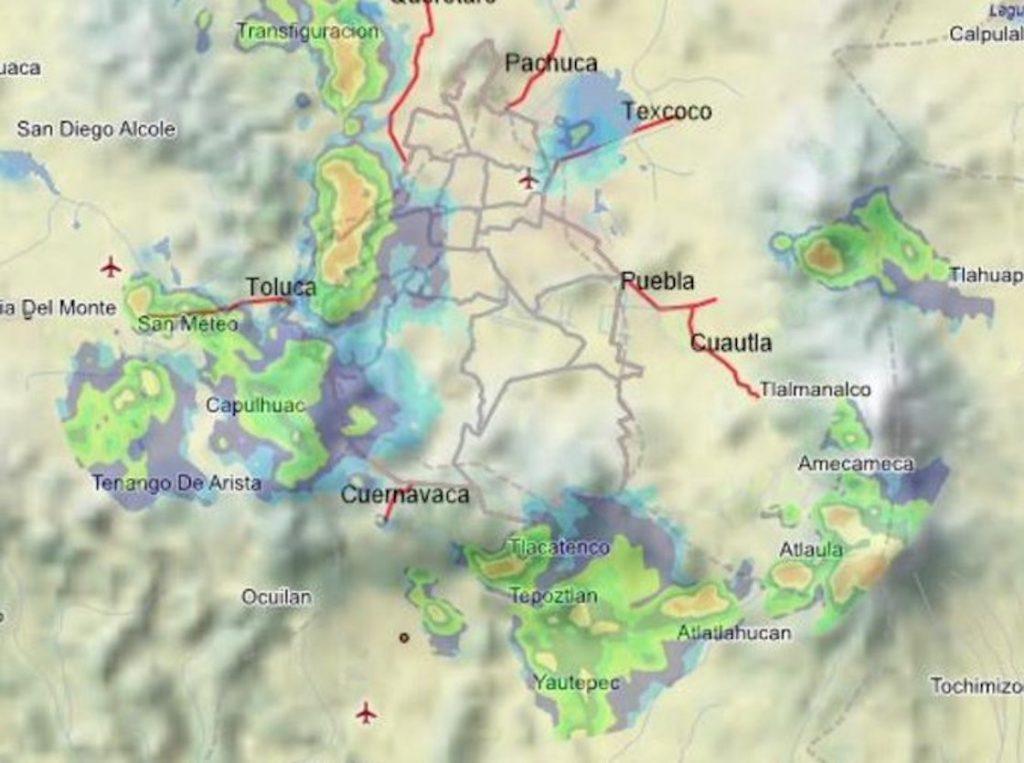Lluvia y truenos: así despertó Tláloc a CDMX EN la madrugada