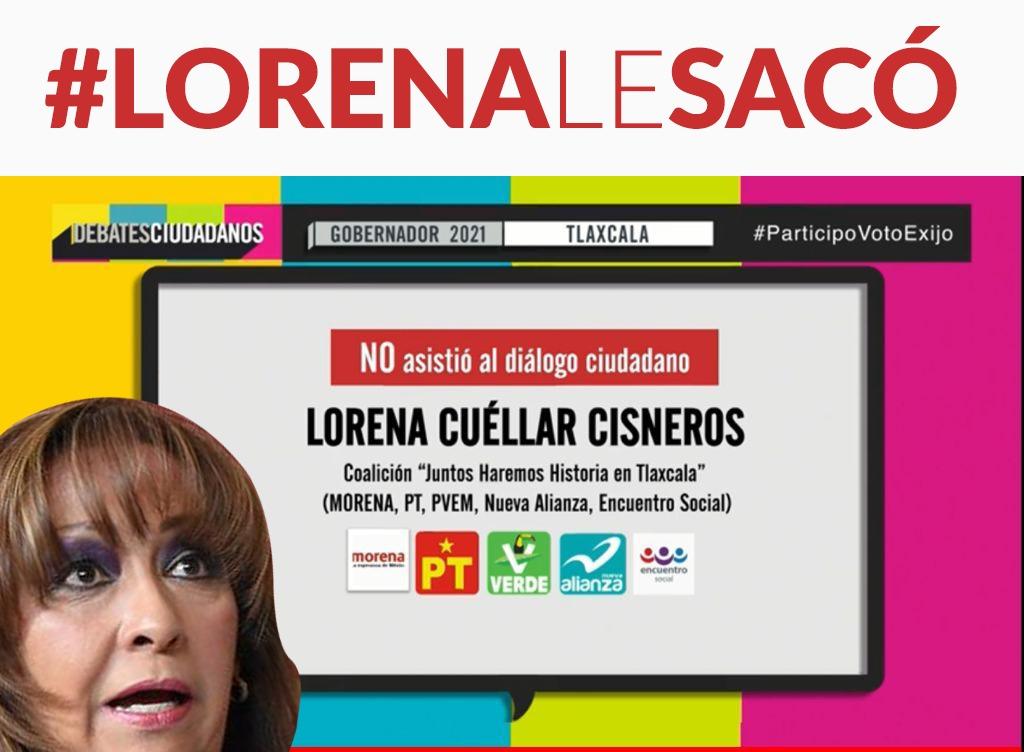 Debate organizado por IP lo desaira la candidata de la coalición «Juntos Haremos Historia» Lorena Cuéllar